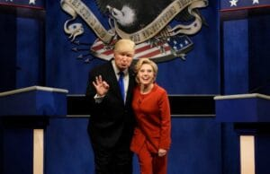kate mckinnon hillary clinton alec baldwin donald trump saturday night live snl