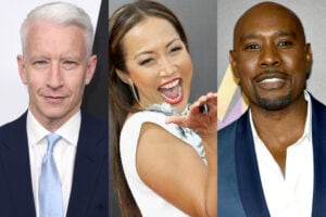 Anderson Cooper Carrie Ann Inaba Morris Chestnut
