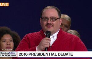 ken bone presidential debate hillary clinton donald trump