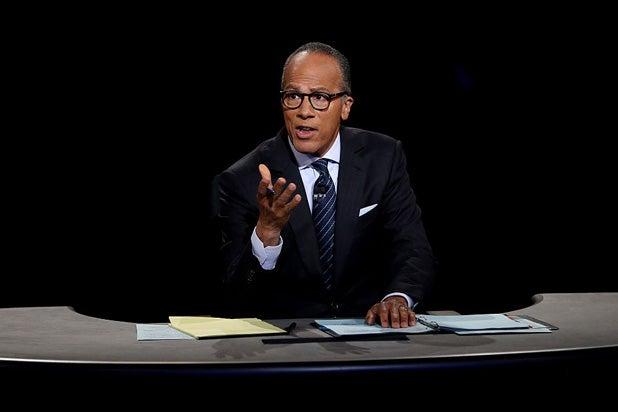 Lester Holt Debate