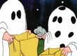 Its the Great Pumpkin Charlie Brown Halloween ABC television special i got a rock