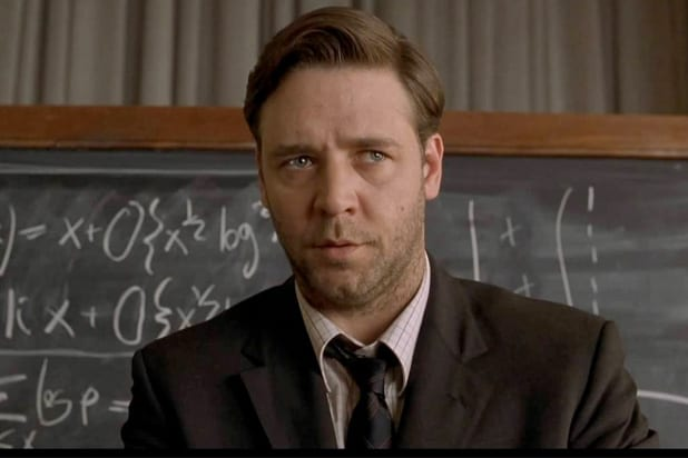 beautiful mind ron howard russell crowe