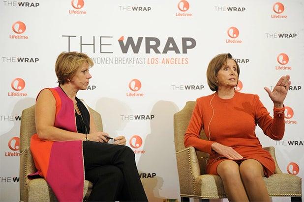 The Scene With Nancy Pelosi, Allyson Felix at TheWrap's ...