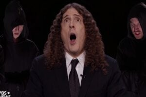 presidential debate weird al