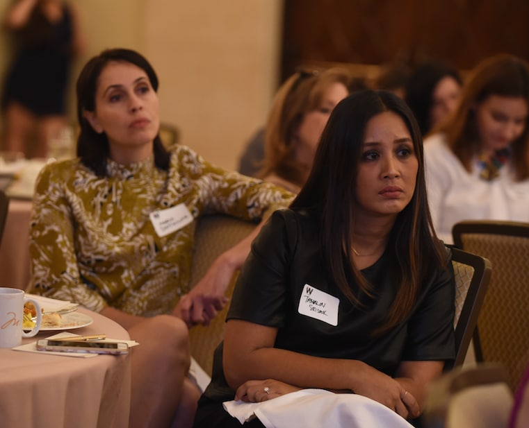 power women breakfast los angeles 2016 crowd listening