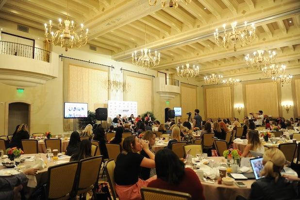 power women breakfast los angeles 2016 ballroom