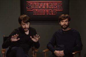 snl saturday night live stranger things season 2 duffer brothers lucas