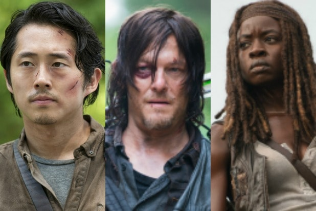 the walking dead characters ranked daryl glenn michonne