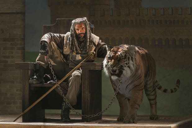the walking dead the kingdom king ezekiel shiva