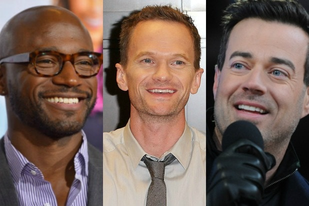 Taye Diggs billy bush Neil Patrick Harris Carson Daly
