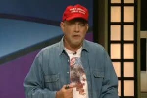 tom hanks black jeopardy trump snl saturday night live