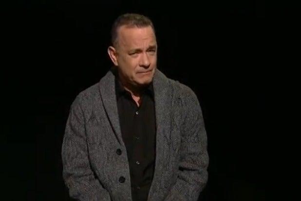 tom hanks monologue snl saturday night live america
