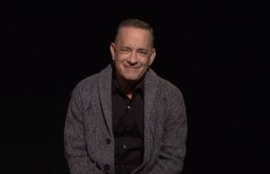 tom hanks opening monologue america's dad snl saturday night live