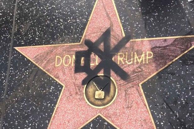 trump star mute symbol