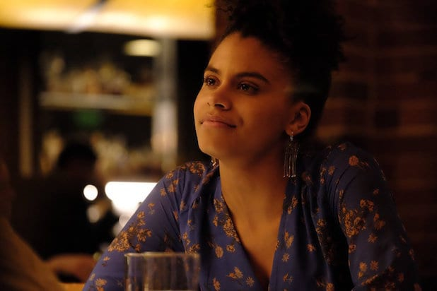 Zazie Beetz Came Dressed to Kill as Domino for Deadpool 2