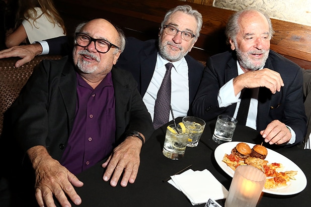 Danny DeVito, Robert De Niro, and Art Linson