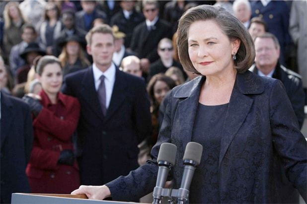 24 cherry jones female president