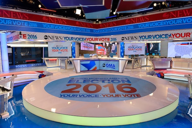 ABC News Election Day set
