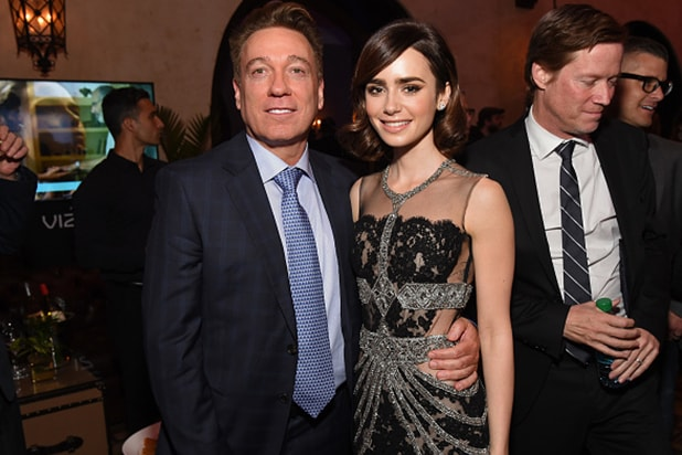 Kevin Huvane Lily Collins