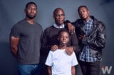 Barry Jenkins, Ashton Sanders, Alex Hibbert and Trevante Rhodes