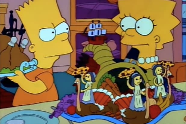 The Simpsons Thanksgiving