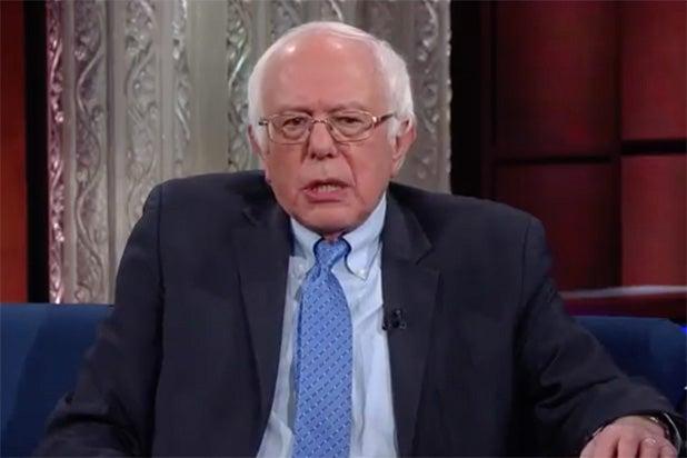 Bernie Sanders The Late Show