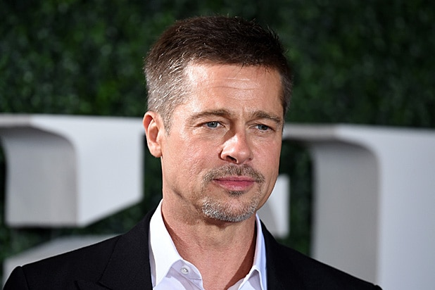 Brad Pitt at Allied Premiere