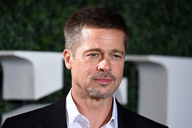 Brad Pitt Makes First ...