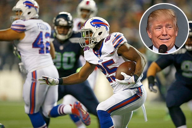 Donald Trump and Buffalo Bills