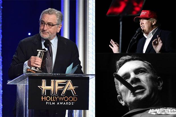 Robert De Niro Donald Trump