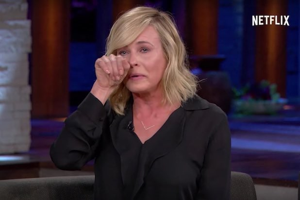 Chelsea Handler Cries Over President-Elect Donald Trump