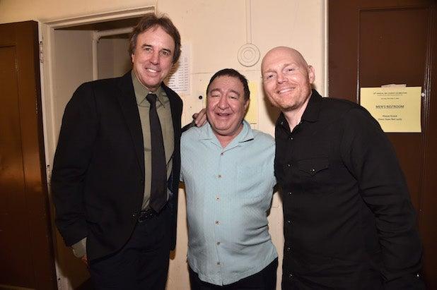 Kevin Nealon, Dom Irerra and Bill Burr