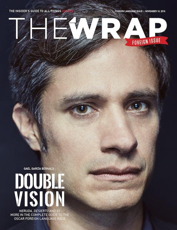 Gael Garcia Bernal OscarWrap cover