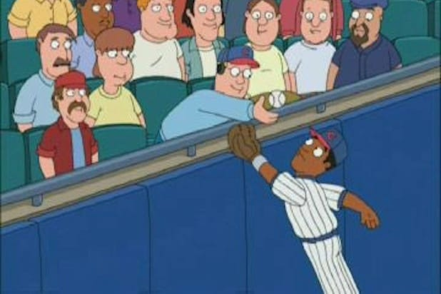 family guy cubs steve bartman