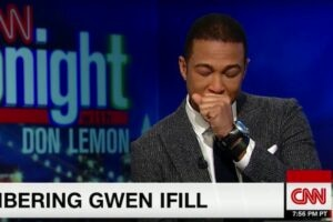 Don Lemon Tears Up Chokes Up Gwen Ifill tribute