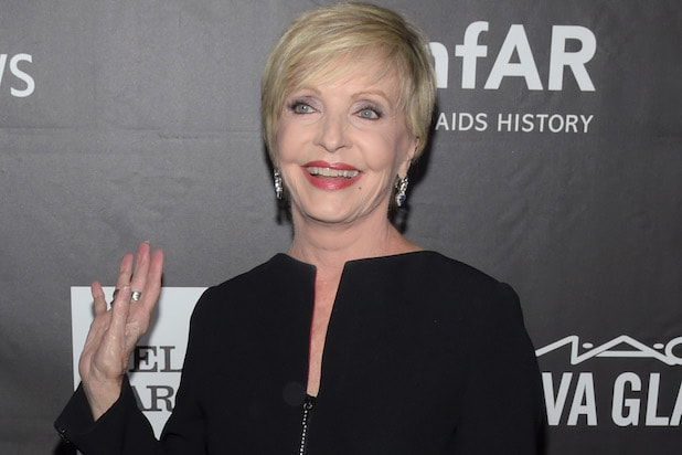 HOLLYWOOD, CA - OCTOBER 29: Actress Florence Henderson attends amfAR LA Inspiration Gala honoring Tom Ford at Milk Studios on October 29, 2014 in Hollywood, California. (Photo by Jason Kempin/Getty Images)