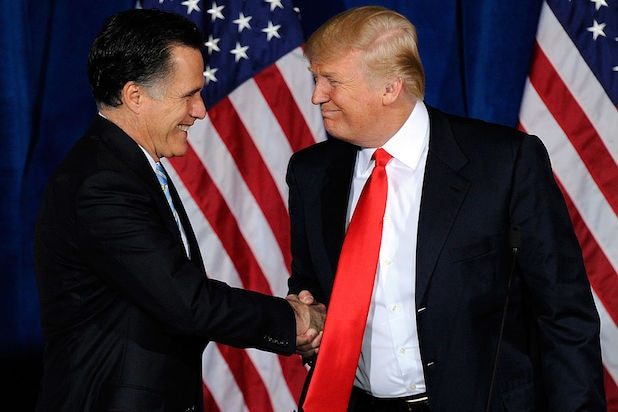 Mitt Romney v Donald Trump: A Timeline of Their Nastiest Insults tiegate