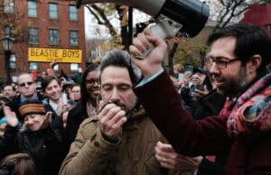 Activists Protest Racism And Hate In Brooklyn Adam Yauch Ad Rock Beastie Boys