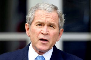 Nope, George W. Bush Did Not Vote For Hillary Clinton