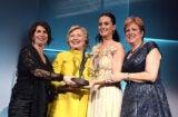 Hillary Clinton and Katy Perry UNICEF