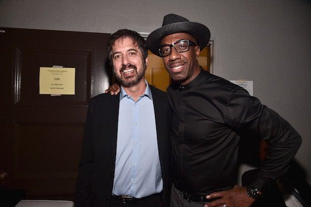 Ray Romano and comedian JB Smoove
