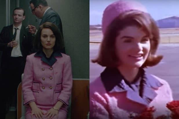 How Natalie Portman's 'Jackie' Costumes Match Jackie Kennedy's Real