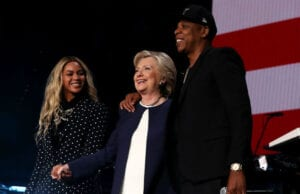 Jay Z Beyonce Hillary Clinton Election