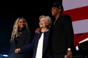 Jay Z Beyonce Hillary Clinton Election