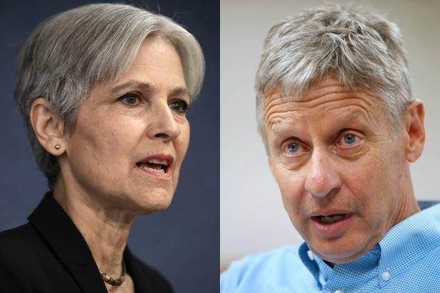 Jill Stein Gary Johnson
