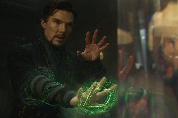 Doctor Strange Benedict Cumberbatch box office disney marvel