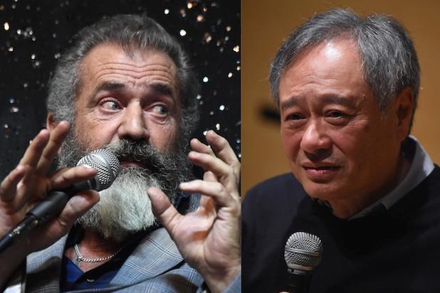 Mel Gibson Ang Lee