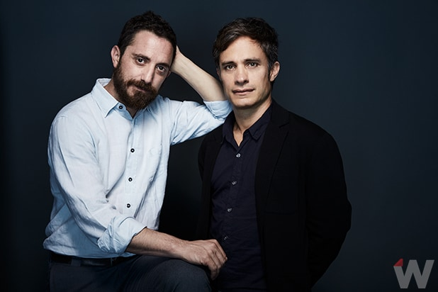 Pablo Larrain and Gael Garcia Bernal, Neruda