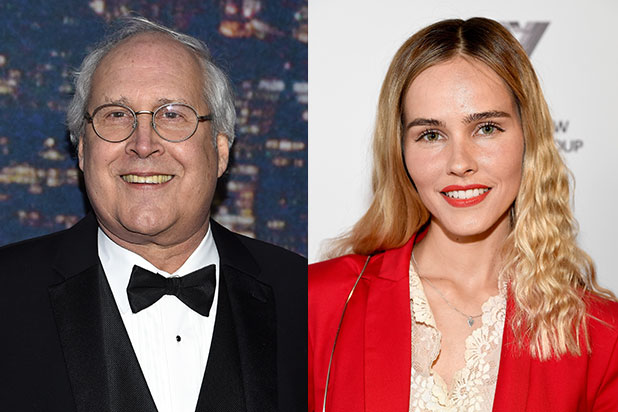 Chevy Chase Isabel Lucas Ogilvy