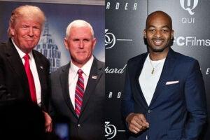 Trump Pence Hamilton